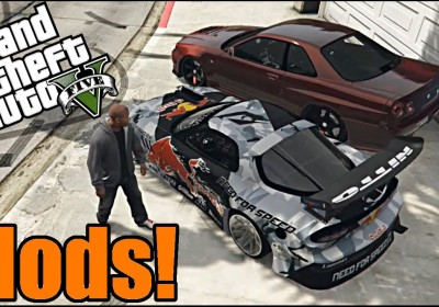 GTA 5 Car Mods | Mad Mike RX7 and R34 GT-R | TC9700Gaming