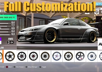 Forza Horizon Exclusive Customization Rocket Bunny Quad