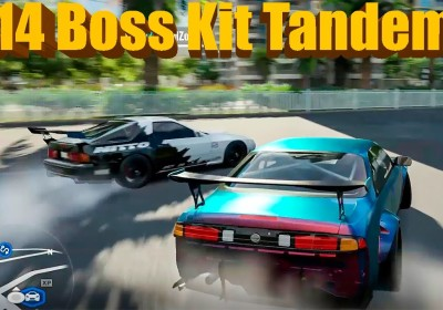 Forza Horizon 3 | Drift Session! S14 Boss Kit, FC RX7, and