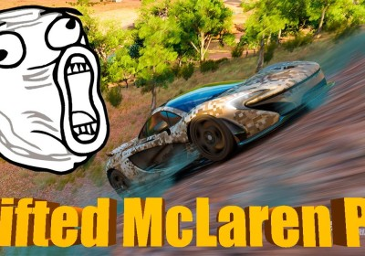 Forza Horizon Lifted Mclaren Hypercar Rock Crawler